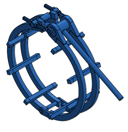 "Picture of 30"" Standard Clamp"
