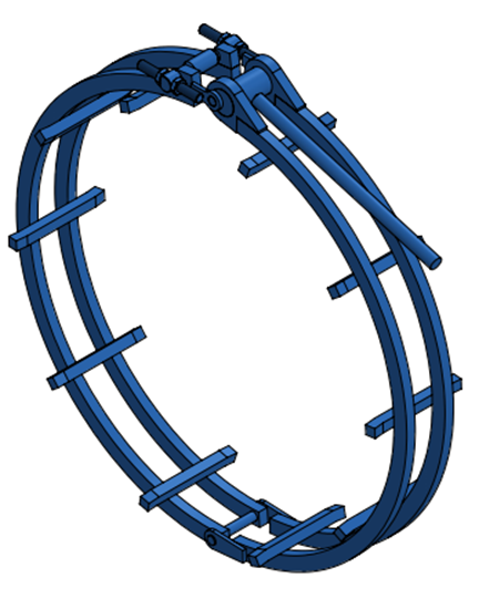 "Picture of 42"" Standard Clamp"