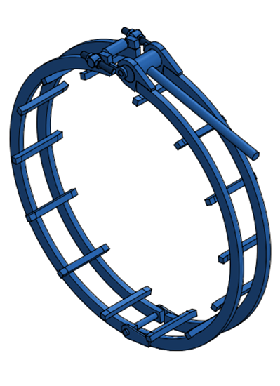"Picture of 46"" Standard Clamp"